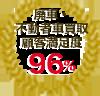 廃車・不動車買取顧客満足度 96%